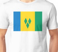 flag of Saint Vincent and the Grenadines Unisex T-Shirt