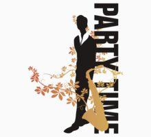 Music Silhouette - Autumn by BadChicken