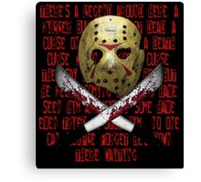 Legend of Voorhees Canvas Print