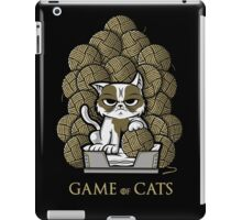 GAME OF CATS iPad Case/Skin