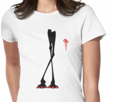 lethal giraffes Womens Fitted T-Shirt