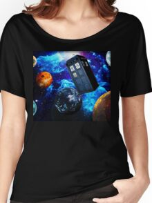 Doctor Who Space Women's Relaxed Fit T-Shirt