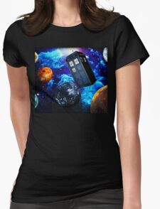 Doctor Who Space Womens Fitted T-Shirt