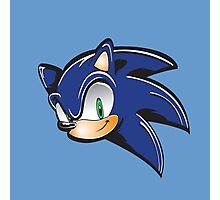 Sonic the hedgehog Photographic Print