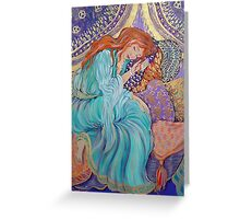 Flame Headed Sleeper Greeting Card