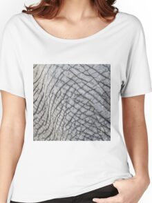 Elephant Skin - Natural Patterns and Textures Women's Relaxed Fit T-Shirt