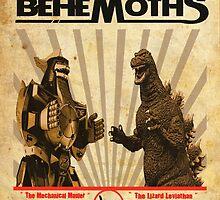 Battle of the Behemoths by budwick5750
