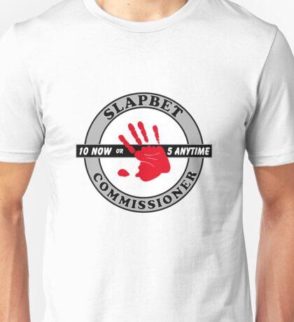 SlapBet Commissioner Unisex T-Shirt