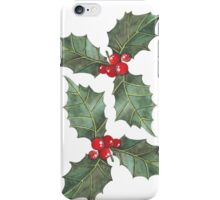 Festive Holly iPhone Case/Skin