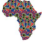 Africa Pattern  by catherine barnhoorn