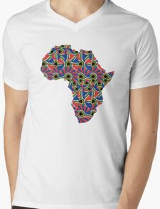 Africa Pattern  Mens V-Neck T-Shirt