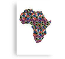 Africa Pattern  Canvas Print