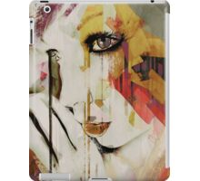Pages Abstract Portrait iPad Case/Skin