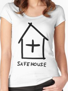 Safehouse Women's Fitted Scoop T-Shirt