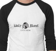 Daily Planet Metropolis Rec League Softball T Men's Baseball ¾ T-Shirt