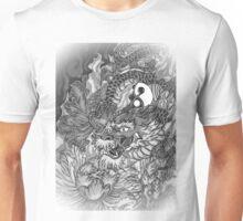 Japanese dragon in wonderland  Unisex T-Shirt