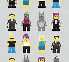 The Minifigs that Lego didn't make. by Alexandra Lea