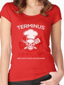 Love The Walking Dead? Women's Fitted Scoop T-Shirt