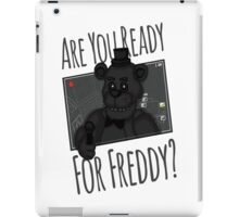ARE YOU READY iPad Case/Skin