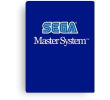 Sega Master System - Outlined Canvas Print