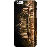 Amsterdam night: The Oude Church iPhone Case/Skin