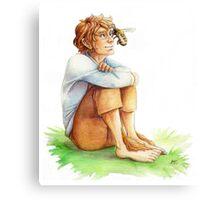 Bilbo Bee Canvas Print