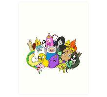 Adventure Time Art Print