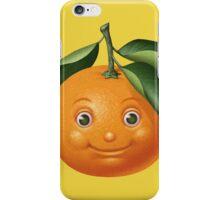 Smiling orange iPhone Case/Skin