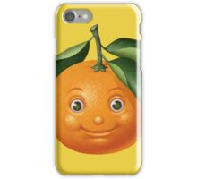 Smiling orange iPhone Case/Skin