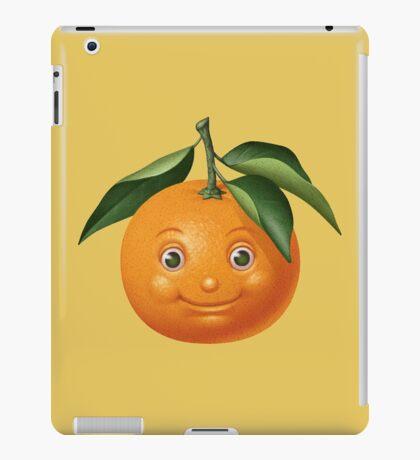 Smiling orange iPad Case/Skin