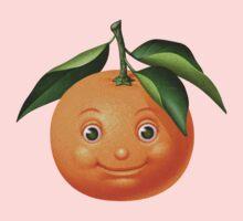 Smiling orange One Piece - Long Sleeve