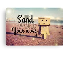 A Little Sand Between Your Toes... Canvas Print