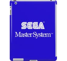 Sega Master System - White Text iPad Case/Skin