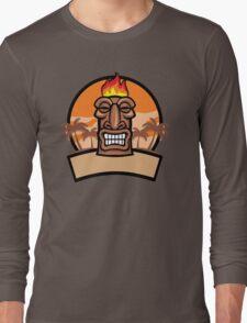Tiki Vector Long Sleeve T-Shirt