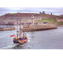 Whitby Harbour 2 Photographic Print