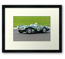 Aston Martin DB 3S No 46 Framed Print
