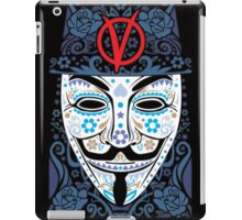 SKULL OF VANDETTA iPad Case/Skin