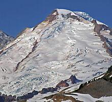 Mt Baker Glacier, Washington by Patricia Shriver