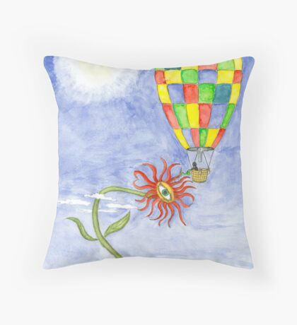 The watering Throw Pillow