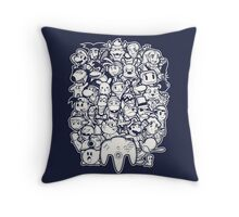 64Bit Throw Pillow