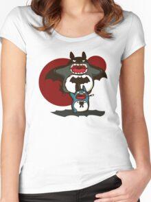 Bataro Women's Fitted Scoop T-Shirt