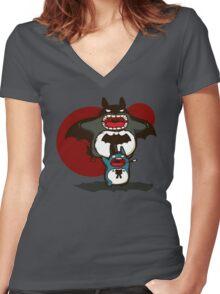 Bataro Women's Fitted V-Neck T-Shirt