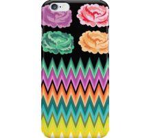 CHEVRON ROSES iPhone Case/Skin