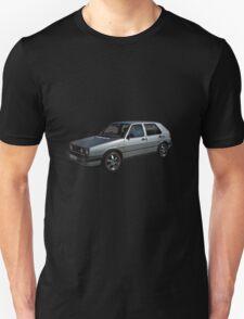 Volkswagen Golf GTI in Silver T-Shirt