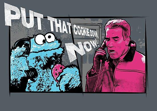 Put that cookie down! by Scott Weston