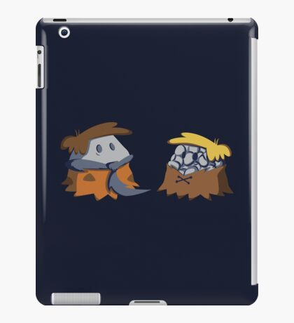 Flint and Rubble iPad Case/Skin