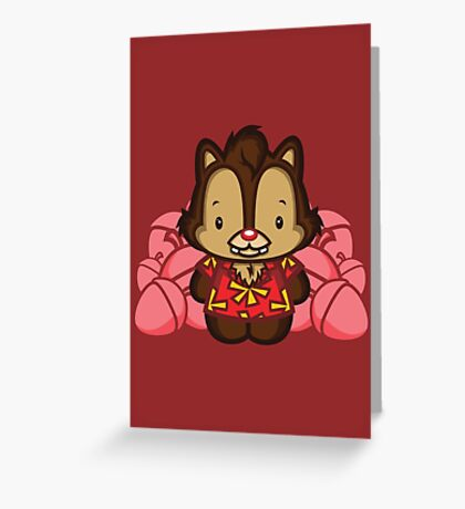 Hello Dale Greeting Card