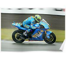British Moto Grand Prix 9 Poster