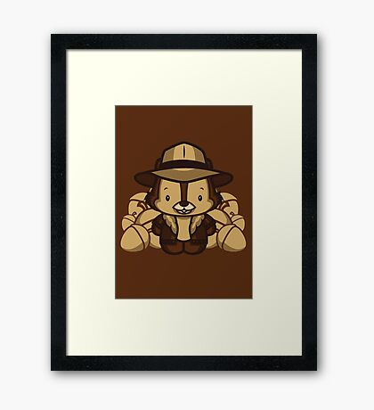 Hello Chip Framed Print