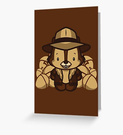 Hello Chip Greeting Card